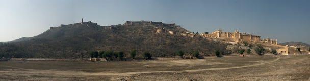 Панорама янтарного форта Стоковое Изображение RF