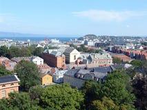 панорама 01 города Стоковая Фотография RF