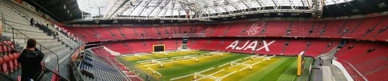 Панорама 2017 Ajax стоковые изображения rf