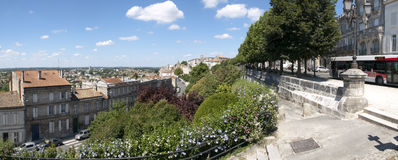 Панорама Angouleme Стоковые Фото