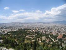панорама athens Стоковое Фото