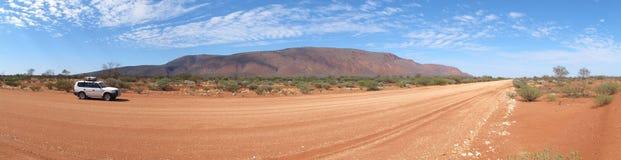 Панорама augustus держателя, западной Австралии стоковая фотография