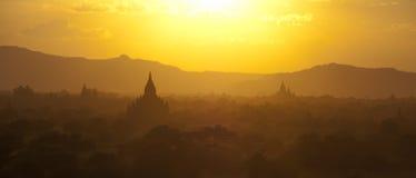 Панорама Bagan Стоковые Фото