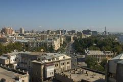 панорама baku стоковая фотография rf