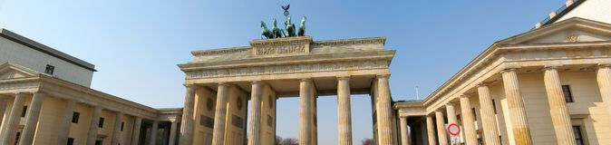 панорама berlin Стоковые Фото