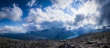 Панорама Besseggen Стоковая Фотография