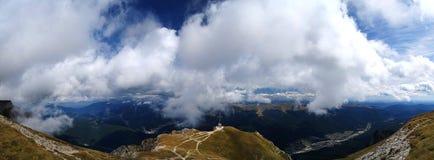 панорама bucegi caraiman перекрестная Стоковая Фотография RF