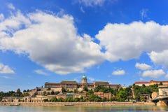 панорама budapest Венгрии Стоковое фото RF