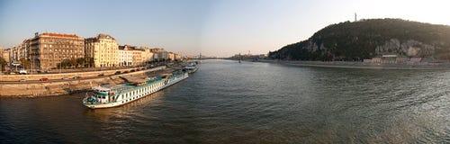 панорама budapest Стоковое Изображение RF