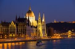 панорама budapest Стоковое Фото
