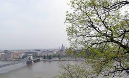 панорама budapest Стоковое фото RF