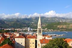 Панорама Budva. Черногория. Стоковая Фотография RF