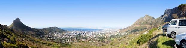 Панорама Cape Town Стоковая Фотография