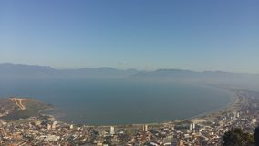 Панорама Caraguatatuba Стоковая Фотография