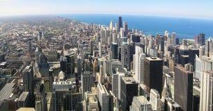 панорама chicago стоковое фото