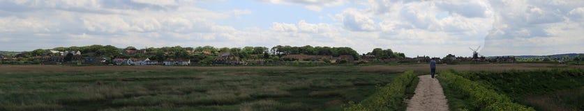 Панорама Cley Стоковое Фото
