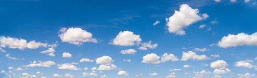 панорама cloudscape Стоковая Фотография RF