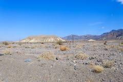 Панорама Death Valley Стоковое Изображение RF
