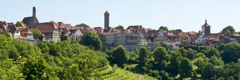 Панорама der Tauber ob Ротенбурга Стоковая Фотография