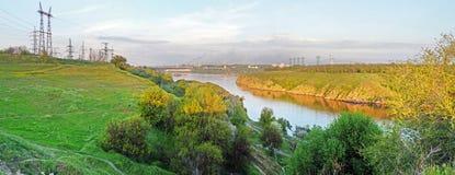 панорама dneproges Стоковое Изображение