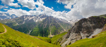 Панорама Elbrus Стоковые Изображения