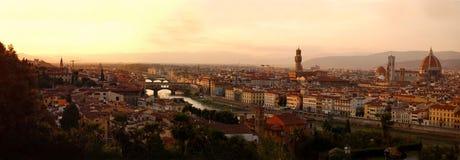 панорама florence Италии Стоковое фото RF
