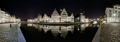 Панорама Gent Стоковые Изображения