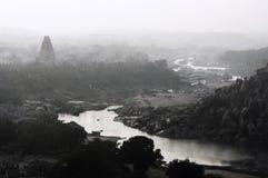 Панорама Hampi Стоковое Изображение