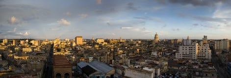 панорама havana Стоковые Изображения