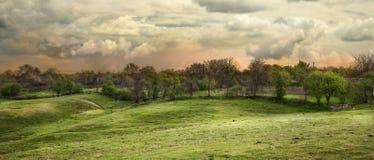 панорама hdr Стоковое фото RF