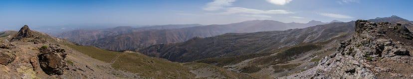 Панорама i сьерра-невады Стоковое Фото