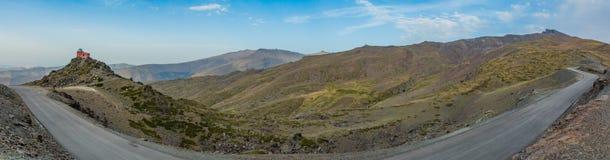 Панорама II сьерра-невады Стоковое фото RF