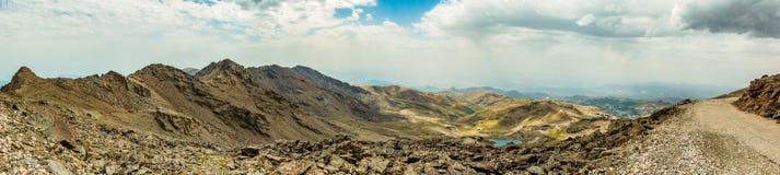 Панорама III сьерра-невады Стоковые Изображения