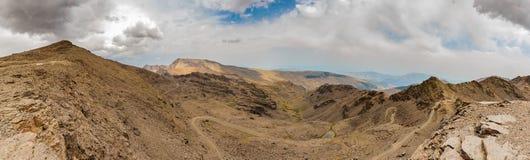 Панорама IV сьерра-невады Стоковая Фотография