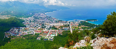 Панорама Kemer, Турции Стоковое Фото