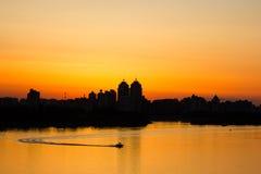 панорама kiev Стоковые Изображения RF