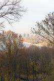 панорама kiev Стоковое фото RF