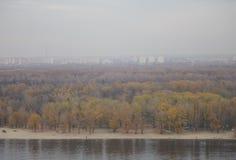 панорама kiev Стоковые Изображения