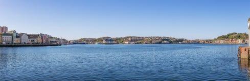 Панорама Kristiansund стоковые изображения