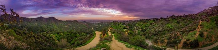 Панорама Las Анджелеса Стоковая Фотография