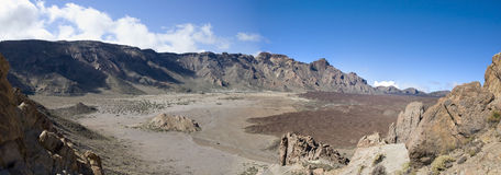 панорама las canadas стоковые фотографии rf