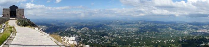 панорама lovchina Стоковое Изображение RF