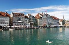 Панорама Luzern Стоковые Изображения
