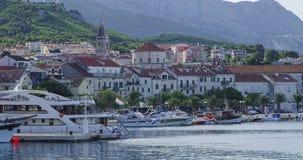 Панорама Makarska Стоковые Изображения