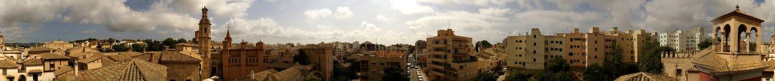 панорама mallorca Стоковая Фотография RF