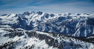 Панорама Mammoth Mountain Стоковое фото RF