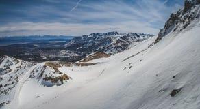 Панорама Mammoth Mountain Стоковые Изображения RF