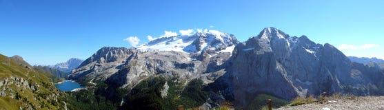 панорама marmolada Стоковая Фотография RF