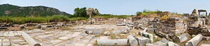 панорама mary ephesus церков стоковая фотография