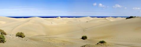панорама maspalomas Стоковое фото RF